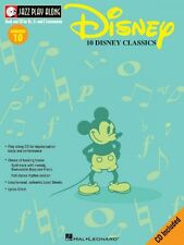 Disney Jazz Play Along Book and CD NEW 000843003