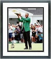 """Tiger Woods 2019 Masters Champion Green Jacket Photo (12.5"""" x 15.5"""") Framed"""