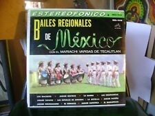 SEALED MINT SPANISH LATIN LP~BAILES REGIONALES DE MEXICO~MARIACHI VARGAS~HEAR