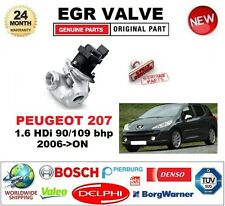 FOR PEUGEOT 207 1.6 HDi 90/109 bhp 2006-ON EGR VALVE 5-PIN with GASKETS/SEALS