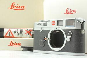 【 UNUSED in BOX 1993 Model 】 Leica M6 0.72 Non TTL Rangefinder Camera Japan #559