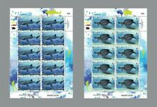 Thailand 2019 Wwf 4 V Stamp Sheet,  2 Ss and fdc