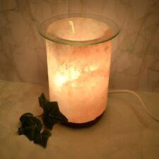 Salzkristall Lampe Aromalampe Duftlampe Salzkristalllampe elektrisch Glasschale