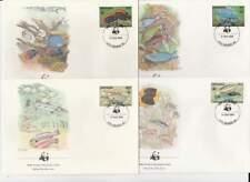 WWF 4 x FDC Grenada 1984 - Vissen / Fish (139)