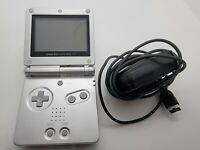 Nintendo Game Boy Advance SP Silver/Platinum Handheld System