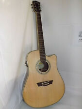 Washburn WCD18CE Comfort Series Acoustic with Fishman pick up Retail $459.00