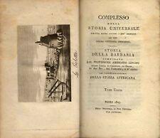 LEVATI, Complesso della storia universale scritta dagli autori i più distinti