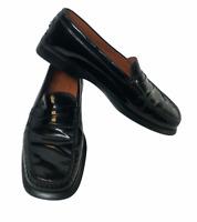 F6390 Mocassino Donna Black Tod/'S Scarpe Vintage Effect Loafer Shoe Woman