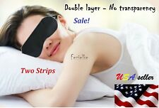 Blindfold soft eye mask eyemask sleep double layer light protection USA seller++