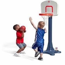 Step2 Shootin' Hoops Junior 48-inch Basketball Set Kids Portable Basketball Hoop