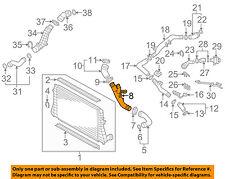 VW VOLKSWAGEN OEM 09-10 Jetta 2.0L-L4 Intercooler-Air Pipe 1K0145770AJ