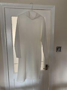 Monki Cream Dress Size S