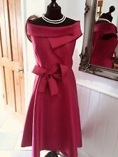 Carla Ruiz Fuchsia Pink Size 16 Wedding Special Occasion Dress New