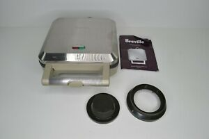 Breville Personal Pie Maker BP1640XL 4 Individual Molds w/ Cutter & Manual