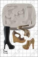 Silicona Molde Multi Zapato | uso alimentario FPC Sugarcraft Envío Reino Unido!