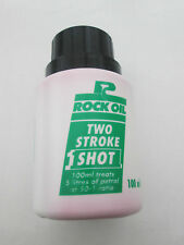 ROCK OIL 2-Stroke ONE SHOT for Lawn Mowers/Chain Saws, etc 100ml x 2 bottles