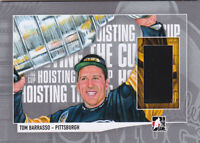 13-14 ITG Tom Barrasso Jersey Lord Stanley's Mug Hoisting The Cup 2013