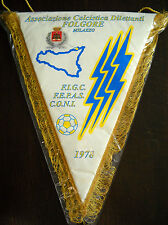 GAGLIARDETTO A.C.D. FOLGORE MILAZZO CALCIO - pennant wimpel fanion