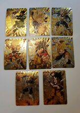 Carte Dragon Ball Z Special Gold Card