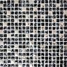 Mosaiksteine Glasmosaik schwarz silber Fliesenspiegel Küchenwand  92-1099_b