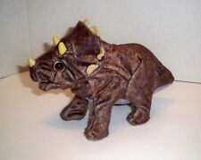 "Triceratops Kota and Pals Hatchling Playskool 9"" Interactive Dinosaur Works GUC"