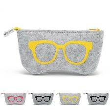Random Sunglasses Case For Women Men Glasses Box Felt Sunglasses Bag Eyeglasse