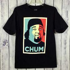 Pawn Stars Las Vegas Chum Chumlee Black Color Block T-Shirt Men's Size S A2-17