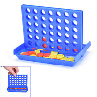 Connect Four In A Row 4 In A Line Board Game Kids Children Fun Educational NeWG