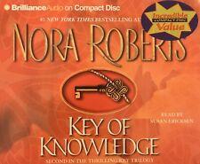 audio cd KEY of KNOWLEDGE Nora Roberts susan ericksen paranormal