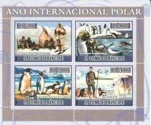 S.Tome e Principe 2007 - Polar year 4v M/S