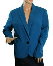 NWT Counterparts Women's Blazer Blue Career Jacket Size 16P