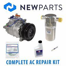For Audi A4 A6 VW Passat NEW AC A/C Repair Kit w/ OE DENSO Compressor & Clutch