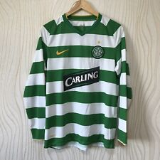 CELTIC 2008 2009 HOME FOOTBALL SHIRT JERSEY LONG SLEEVE NIKE 287580-377