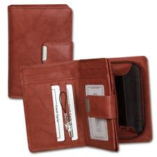 Portefeuille en Cuir Braun Femmes Porte-Monnaie OPJ701O [ Money Maker ]