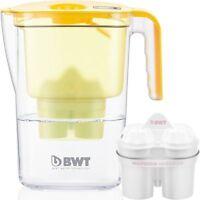 BWT Vida Water Filter Jug, Lemon 2.6 Litre with 1 x Mg2+ Longlife 120L Cartridge