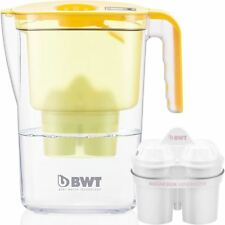 BWT Vida Water Filter Jug, Lemon 2.6 Litre with 1 x Mg2+ Longlife 120L Cartridge