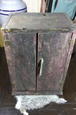 Antique Wooden  Nicho Shrine box late 1800s Early 1900s