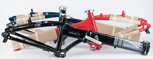 "Dahon Vitesse D7 Bicycle Frame NEW V-Brake Foldable Alloy 3 Colors Available 20"""