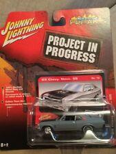 Johnny Lightning Street Freaks Project in Progress 69 1969 Chevy Nova SS Diecast