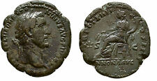 Ancient Rome AD 138-61 ANTONINUS PIUS, Large AE As, Annona ,Nice