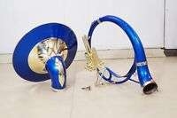 Sousaphone 22 inch Blue color Time to Buy Bb pitch Fast ship