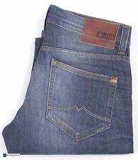 Mustang Herren-Jeans mit hoher Bundhöhe