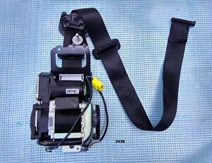 14-19 OEM MERCEDES C W205 GLC W253 FRONT PASSENGER RIGHT SIDE SEAT BELT black