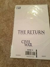 The Return - Civil War #1 - Marvel comic book
