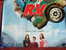 "R V Runaway vacation, original UK quad poster rolled 40"" x 30"" ,2006 R Williams"