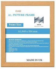 A1 OAK PICTURE FRAME  SIZE,840 mm x 594 mm