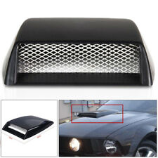 Car Decorative 3D Simulation Air Flow Intake Hood Scoop Bonnet Vent Cover Nice