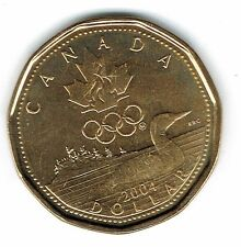 2004 Canadian Commemorative Brilliant Uncirculated Olympic $1 Loonie!