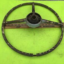 Studebaker steering wheel;  USED, poor condition.        Item:  7580