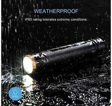 HEISENS Dual Beam Rechargeable Flashlight 1000 Lumen, Waterproof 5 Light Modes